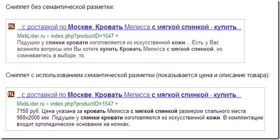 Яндекс schema.org