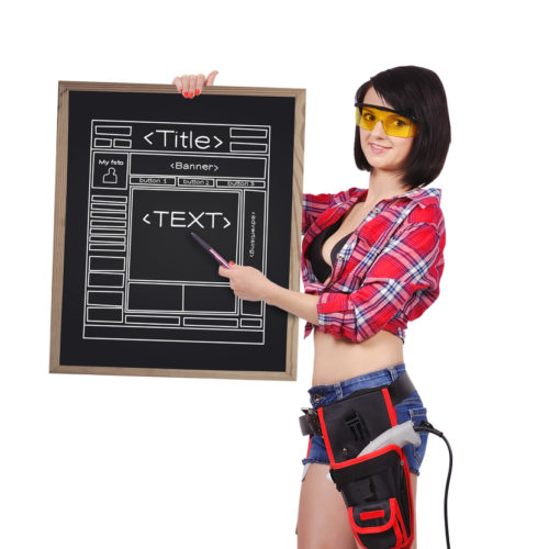 Верстка HTML страниц