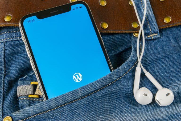 pocket mobile WordPress