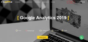 IT HUB курс Google Analytics 2019
