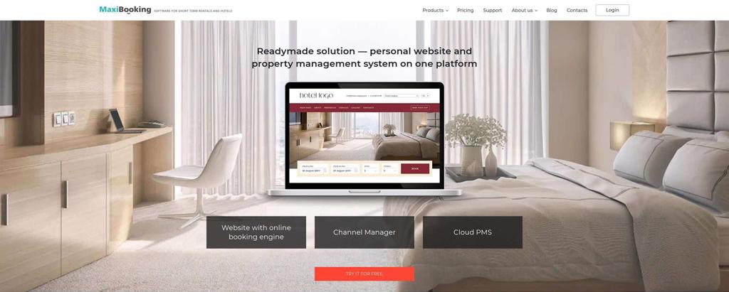 MaxiBooking-инновационные решения для гостиниц, хостелов и индивидуальной недвижимости
